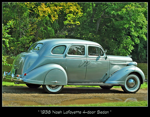 All For Show >> 1938 Nash Lafayette | All of my classic car photos can be fo… | Flickr