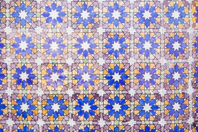 colourful portuguese tiles