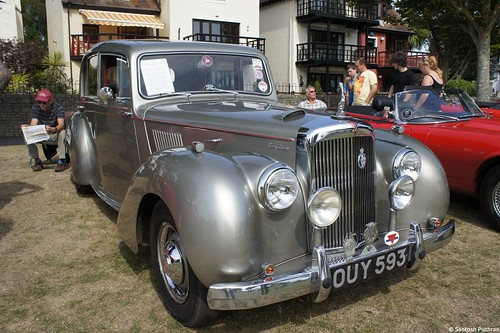 1955 Alvis TC21 Grey Lady | by talk2santosh