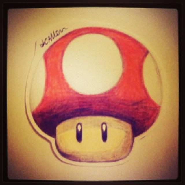 Jordonallen Made A Mushroom Awesome Mario Mushroo