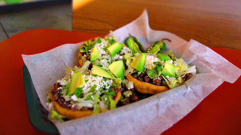 Sopes From Paleteria La Michoacana In Des Moines Iowa Flickr