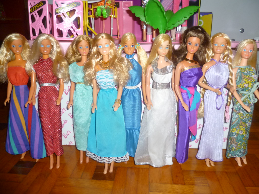 Barbie 70s and 80s dresses!!! | I have never been a huge dre… | Flickr