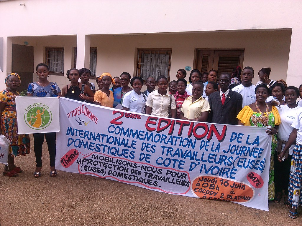2016-6-16 Ivory Coast: SYTTEID-CI celebration of the IDWD