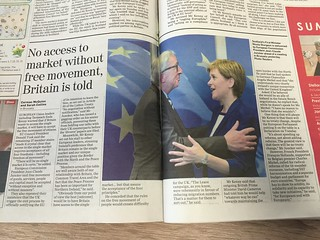 Sturgeon and Juncker. The future is now?