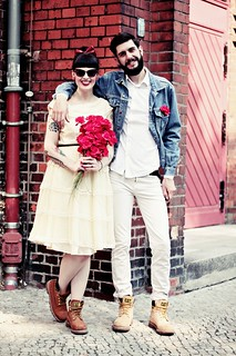CAT_COLORADO_LOOKBOOK_WEDDING_MARRIAGE_BOY_GIRL_VINTAGE_BOOTS_BEARD_TATTOOS_BERLIN_SHOOT (3) | by microphoneheart