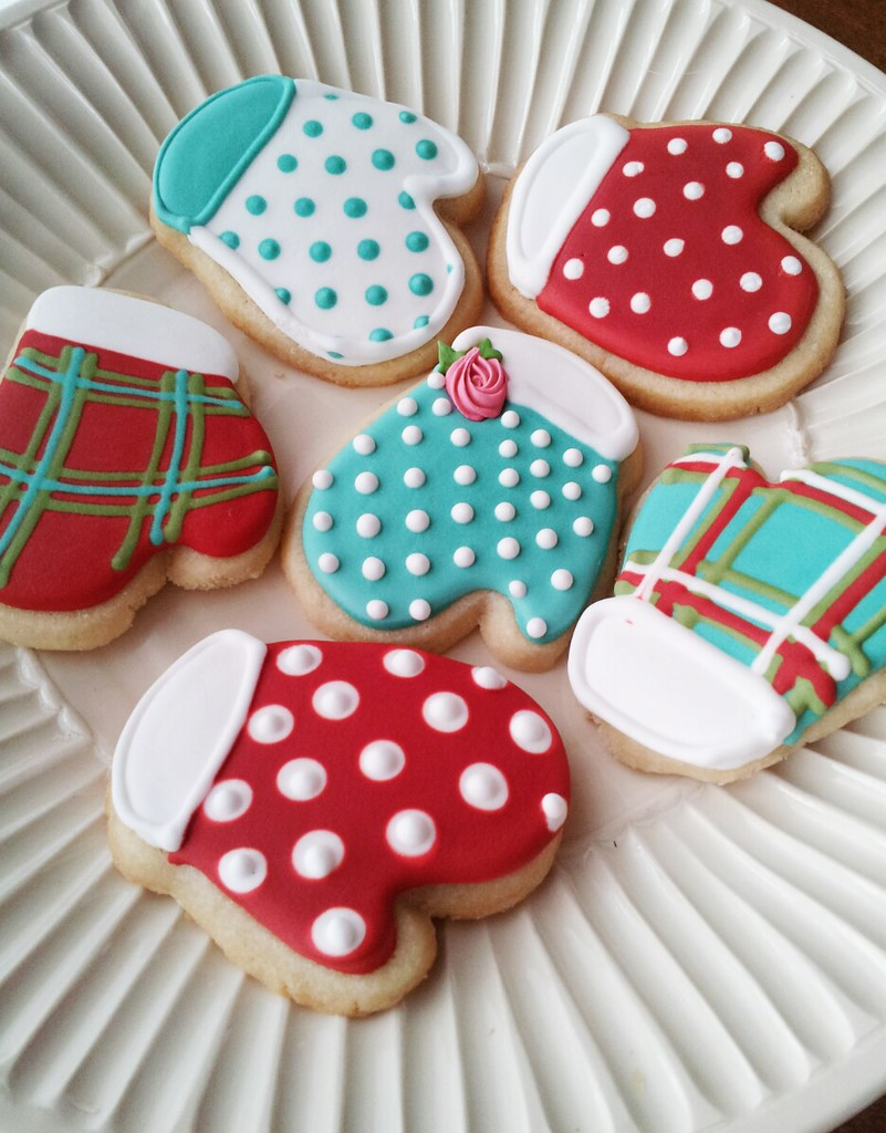 Holiday Sugar Cookie Decorating Ideas Part - 45: ... Sugar Cookie Mittens | By Tam Mabley-chaisson