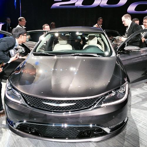 #Chrysler Announces All New Chrysler 200 @ NAIAS 2014