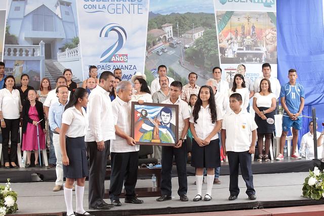 Festival para El Buen Vivir y Gobernando con la Gente, San Pedro Masahuat