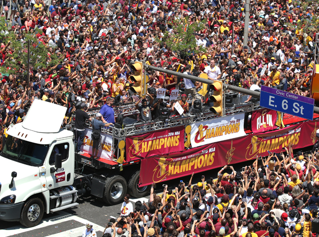 Cavs Championship Parade & Rally