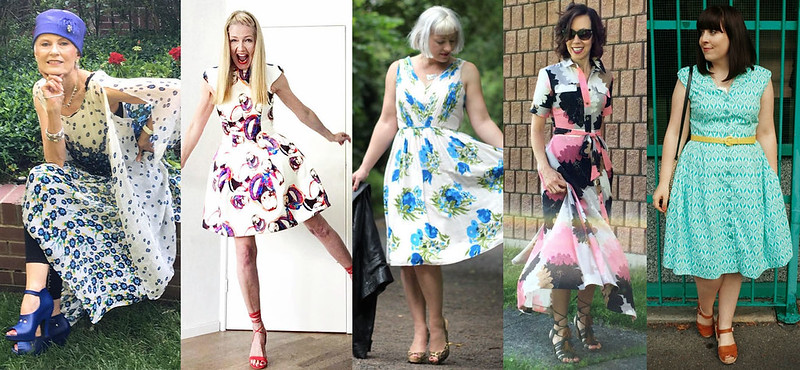 Fashion bloggers in summer dresses #iwillwearwhatilike