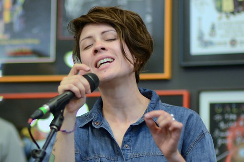 Tegan of Tegan and Sara at Twist & Shout | by fairangels