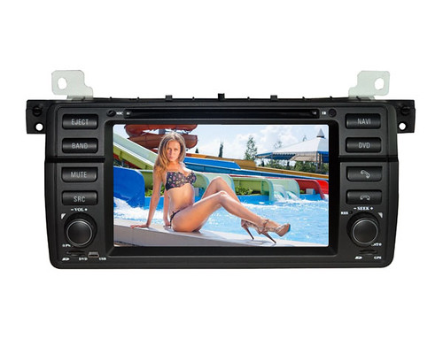 bmw e46 dvd player with gps navigation can bus bluetooth t. Black Bedroom Furniture Sets. Home Design Ideas