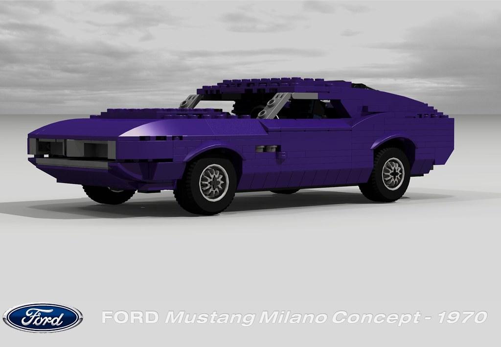 Ford Mustang Milano Concept 1970 Peter Blackert Flickr