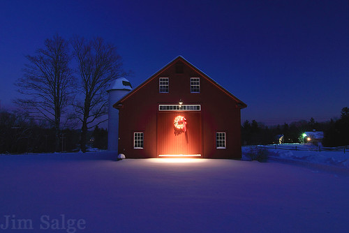 Blue Hour at the Deerfield Barn | by Jim Salge