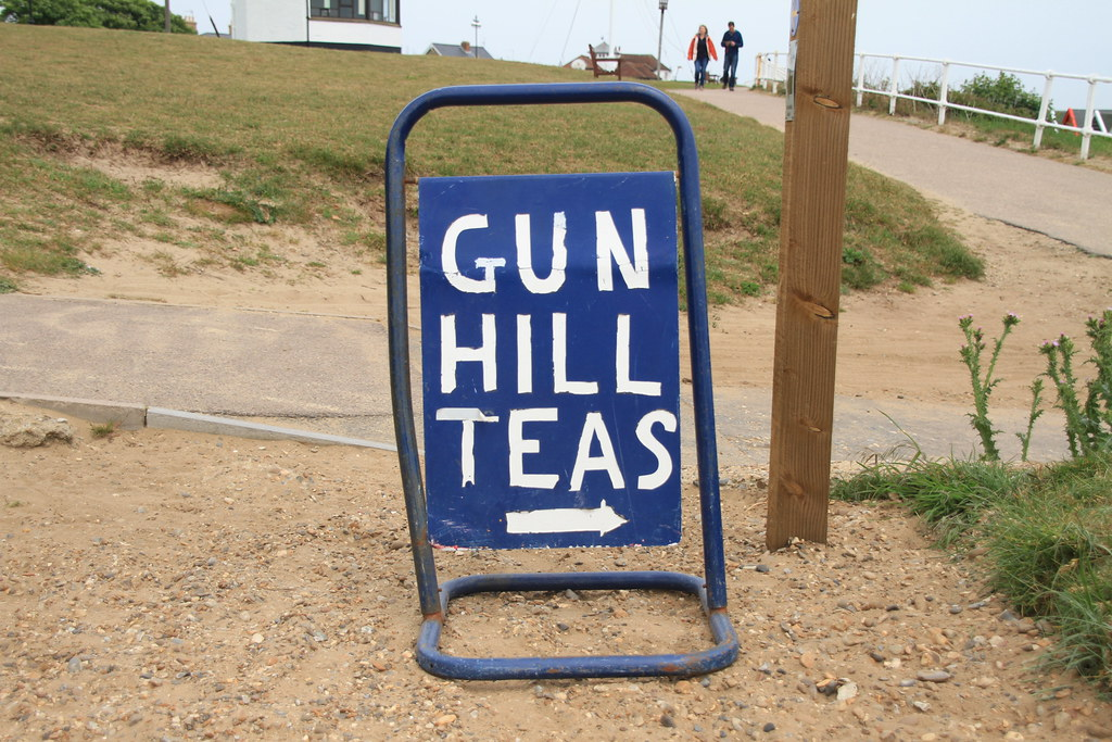 Southwold Gun Hill Tea