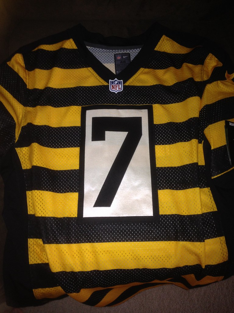 release date: 7254a ef06a 2013 Pittsburgh Steelers Throwback Authentic Jersey Ben Ro ...