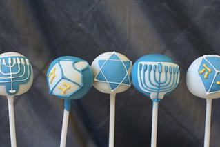 Hanukah Cake Pops | by Sweet Lauren Cakes