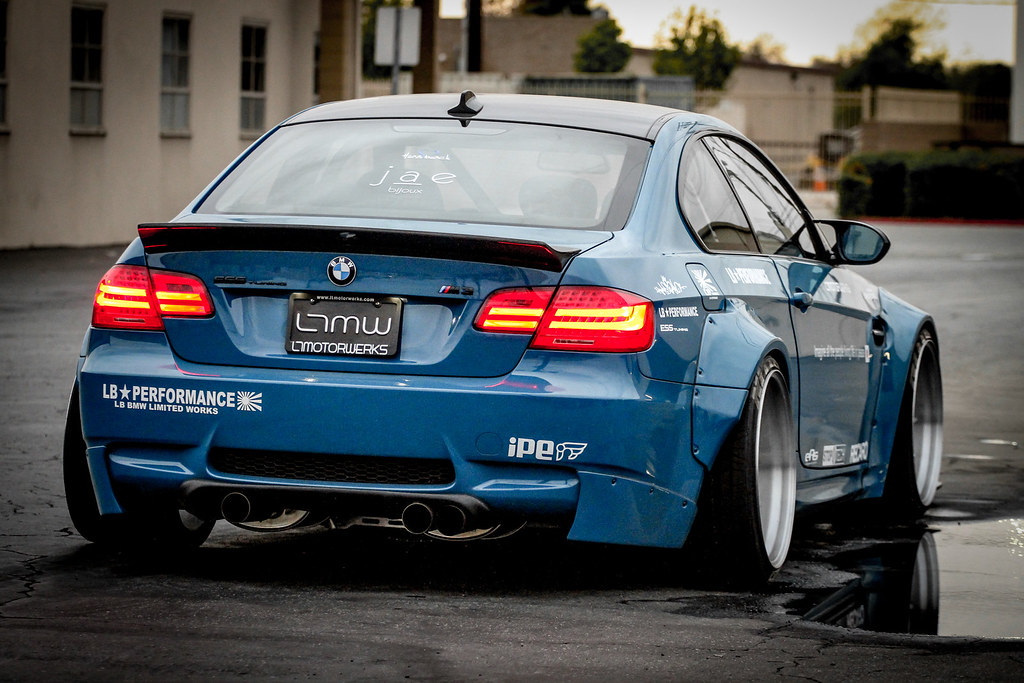 Liberty Walk Iforged Ltmw Widebody Supercharged E92 M3 Flickr