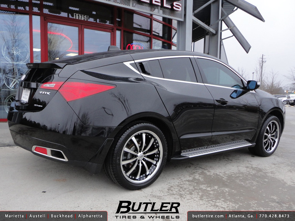 Acura ZDX With In Lexani LSS Wheels Additional Picture Flickr - Acura zdx rims
