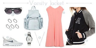 how_to_wear-varsity_jacket-outfits | by ROCIOESPINOSA