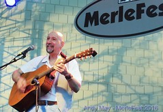 2016 - Andy May at MerleFest