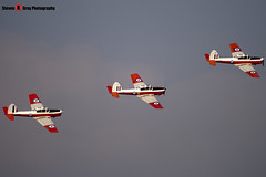 G-BWUT WZ879 X & G-BXCV WP929 & G-BXDI WD373 12 - Private - De Havilland Canada DHC-1 Chipmunk 22 - Duxford - 071014 - Steven Gray - IMG_1647