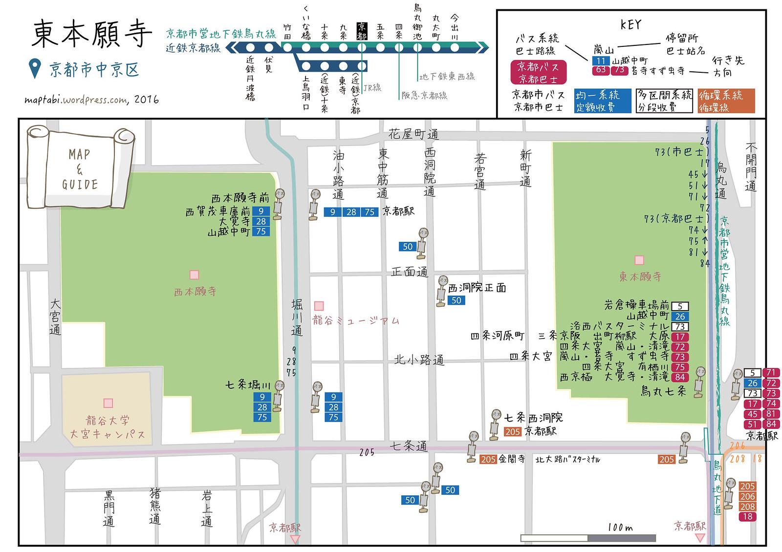 higashihonganji_map