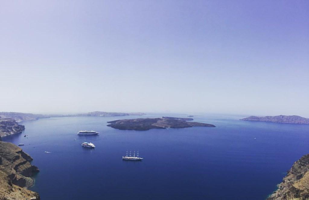 Santorini Volcanic Caldera Dimitrios Paterakis Flickr
