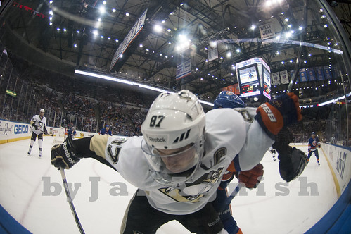 Sidney Crosby along the glass | by Jai Agnish