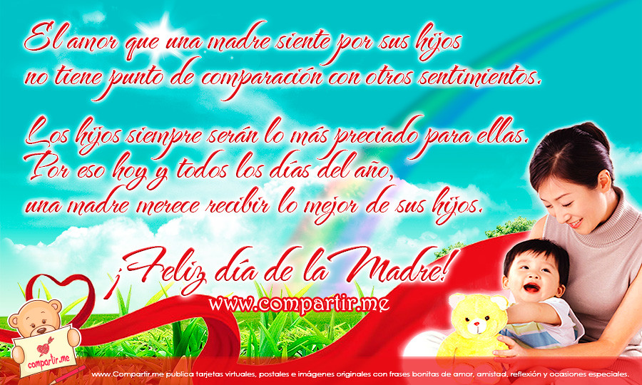 Frases De Amor Nueva Tarjeta Por El Dia De La Madre 2013 Flickr
