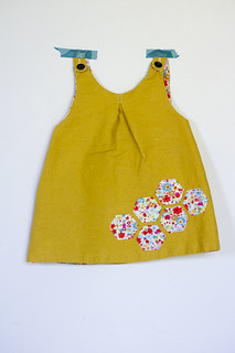 little bee pinafore | by Girl Like The Sea