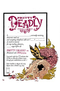 Pretty Deadly #1 preorder form | by Steiner from mars