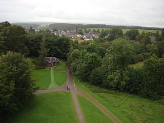 022 Uitzicht bij Doune Castle