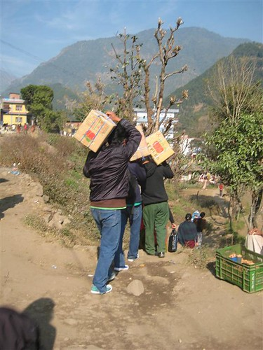 Students carrying books | by nepallibraryfoundation
