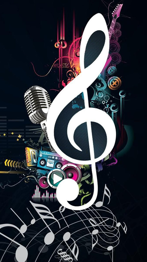 Mobile Phone Wallpaper Hd Music Notes Www Techagesite Com Flickr