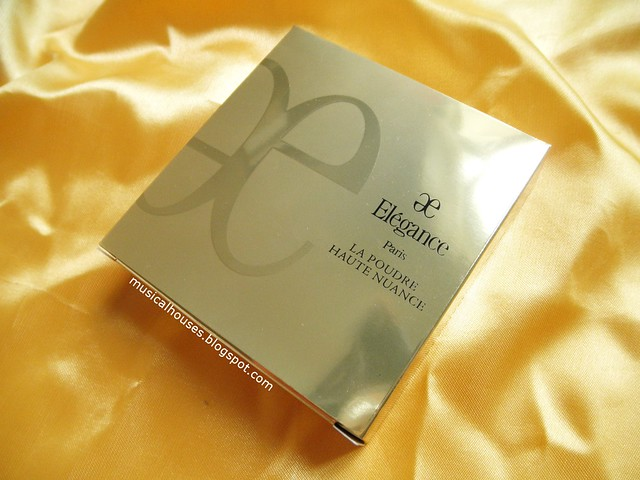 Albion Elegance Face Powder Review Box