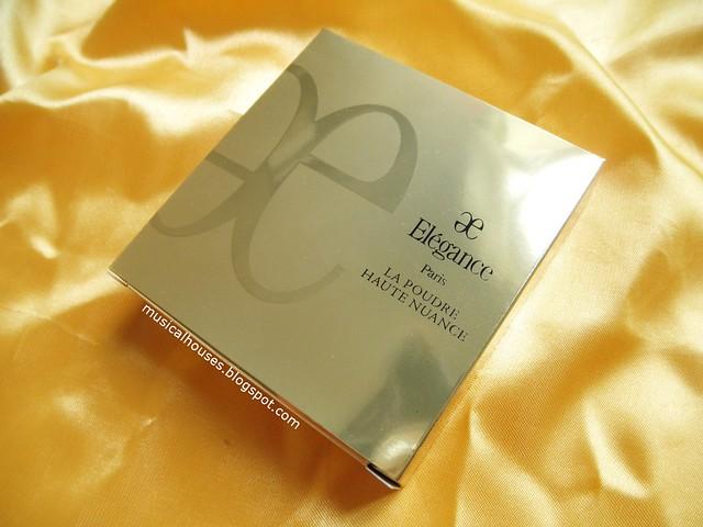 Albion Elegance Face Powder Review Box