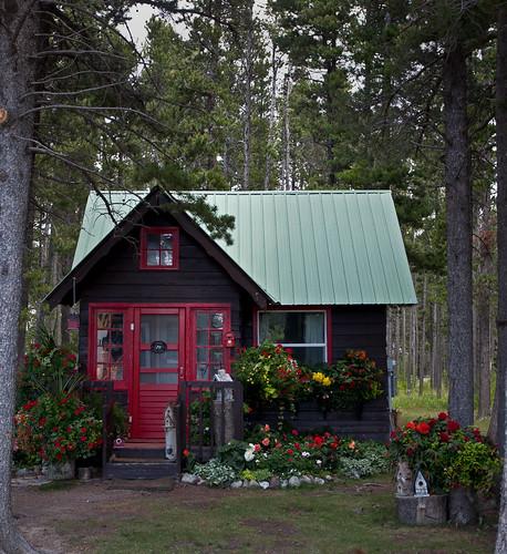 Ontario Park Bungalow Blog: In East Glacier MT, Mr. Tippet Lives In