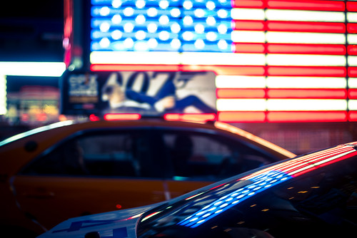 Police Car & Taxi with Stars & Stripes | by tasche.photography