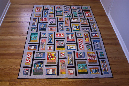 Rapid City Quilt in Charley Harper Fabric | by jrcraft