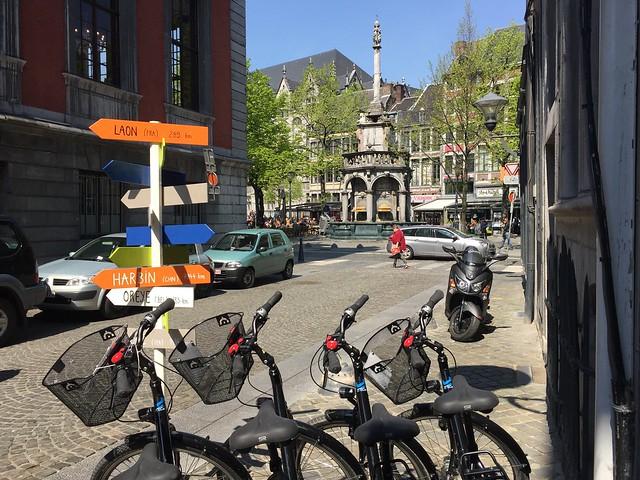 Rallye formation iPad Liège