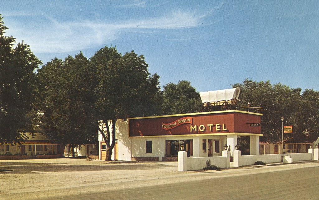 Covered Wagon Motel - Lusk, Wyoming