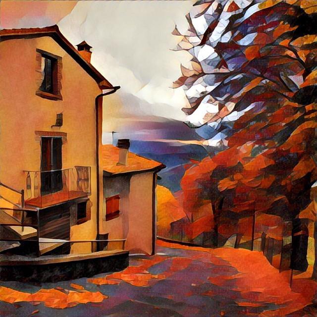 Очень в Тоскане #италия #italy  #my_love_italy #tuskany #prisma #prismaru #prismaart #prismainsta