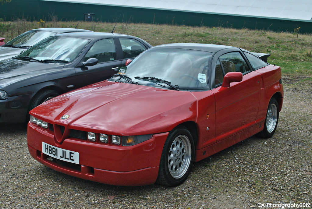 Italian Car Day Brooklands 2013 Alfa Romeo Sz Adrian Flickr