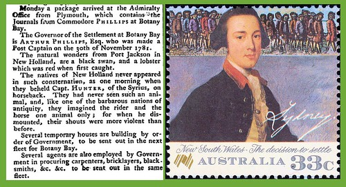 26th January 1788 - British Fleet sail into Port Jackson (Sidney Harbour) | by Bradford Timeline