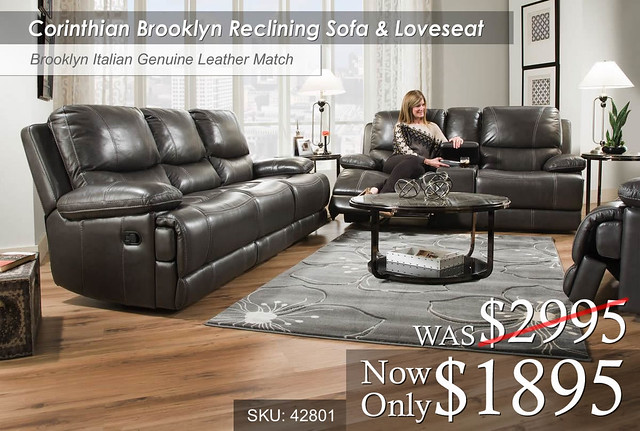 Corinthian Brooklyn Living Room Set 42801