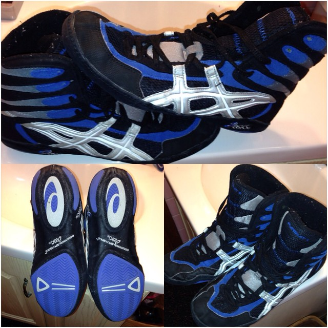 asics 54 wrestling shoes for sale