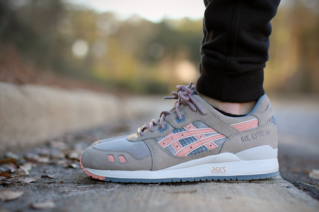 asics gel lyte 3 dames grey
