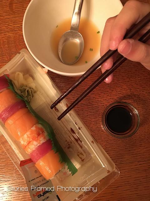 305. | sushi night.