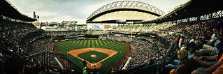 Upper Deck Panorama #ILoveSafeco #GoMariners at Safeco Field | by Paul T. Marsh/PositivePaul